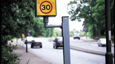 超过一半的司机突破了30英里/小时的限制