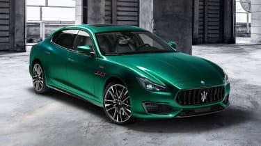 New Maserati Quattroporte Trofeo推出了572BHP