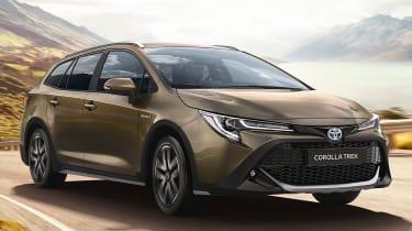 英国价格透露新的2020 Toyota Corolla Trek