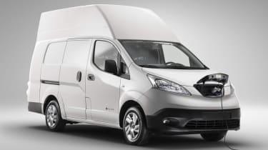 新的全电动日产E-NV200 XL Voltia Van推出