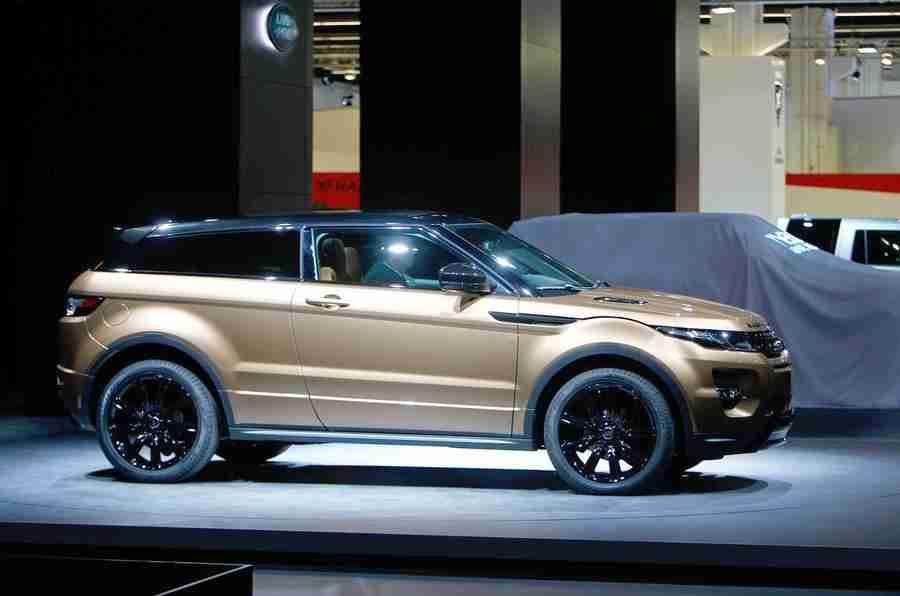 法兰克福电机展2013:Range Rover Evoque 2014年模型年