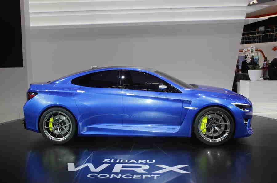 Subaru WRX概念得到欧洲首次亮相