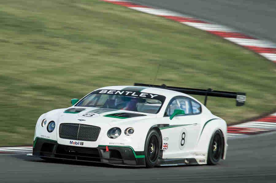 现代Bentley男孩适合大陆GT3的首次亮相