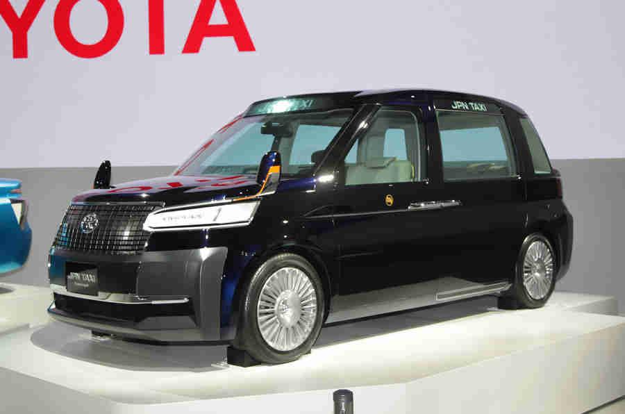 2013年东京电机展:丰田JPN出租车概念
