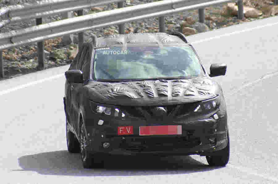 Next-Gen Nissan Qashqai发动机范围透露