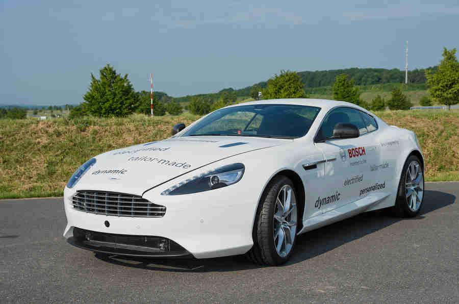 "Hybrid Aston Martin DB9将""增强动态"""