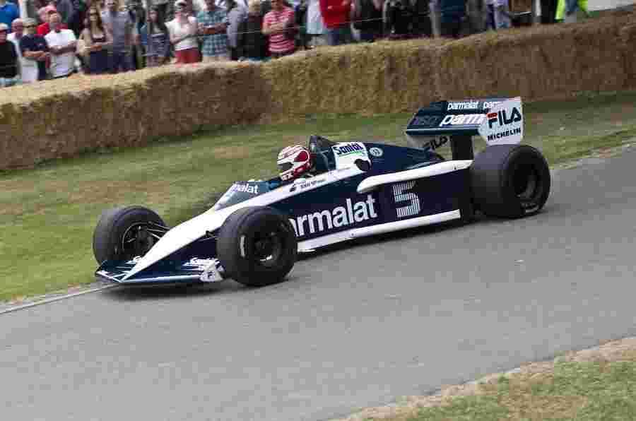 纳尔逊皮克在耶和华耶和华的宝马动力Brabham Bt52重聚