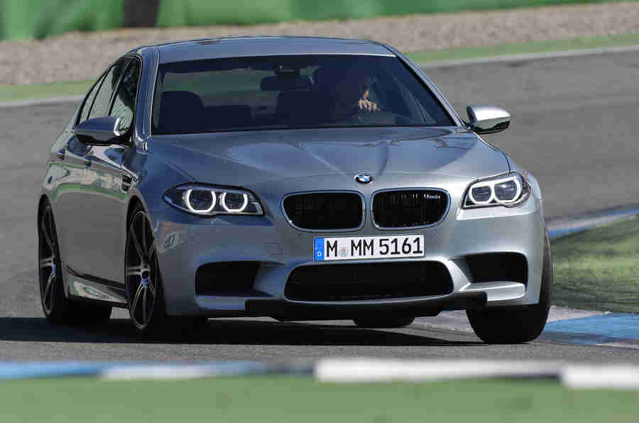Facelifted BMW M5透露