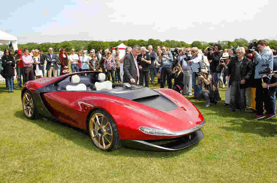 Pininfarina Sergio让英国首映式 - 展览馆