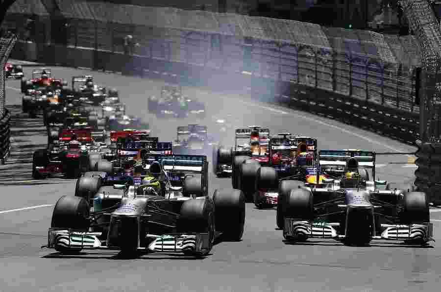 罗斯伯格赢得了入射的摩纳哥大奖赛