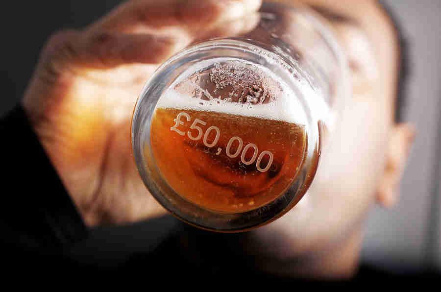 喝酒 - 驾驶者如何在罪行后的早晨犯规