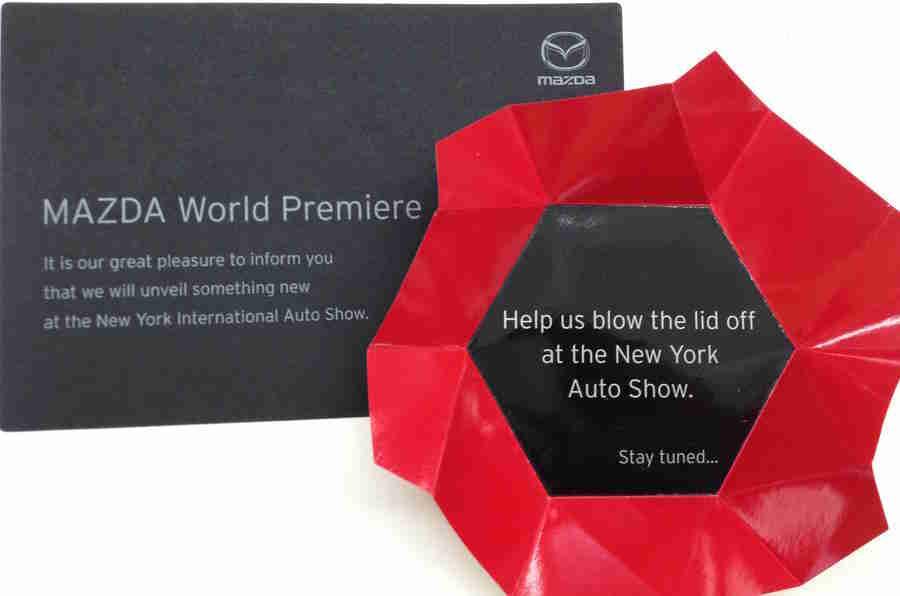 马自达确认新型号将在纽约展会上推出