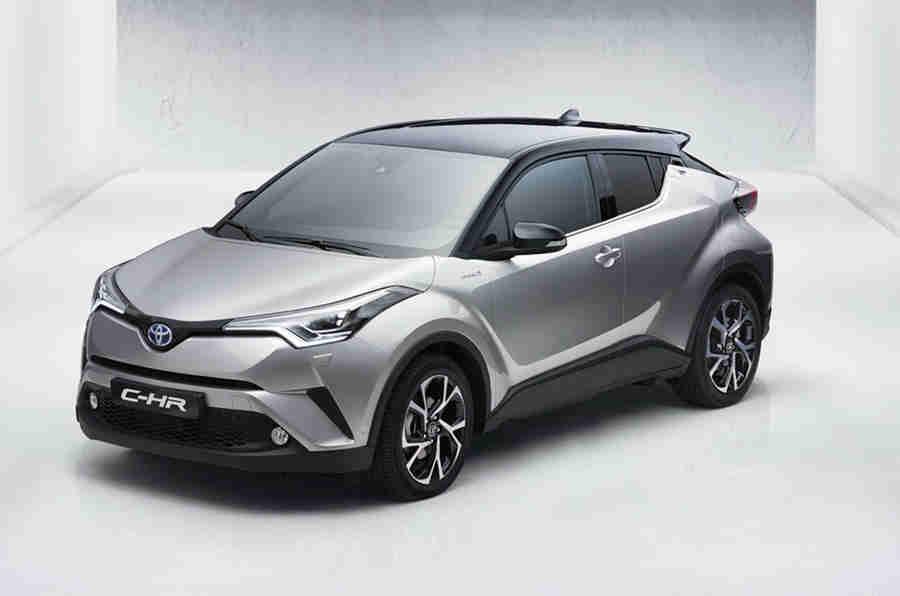 新的丰田C-HR泄漏在日内瓦电机节目首次亮相