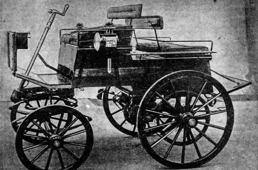 Throwback周四 - 早期英国汽车出口,1895年12月28日