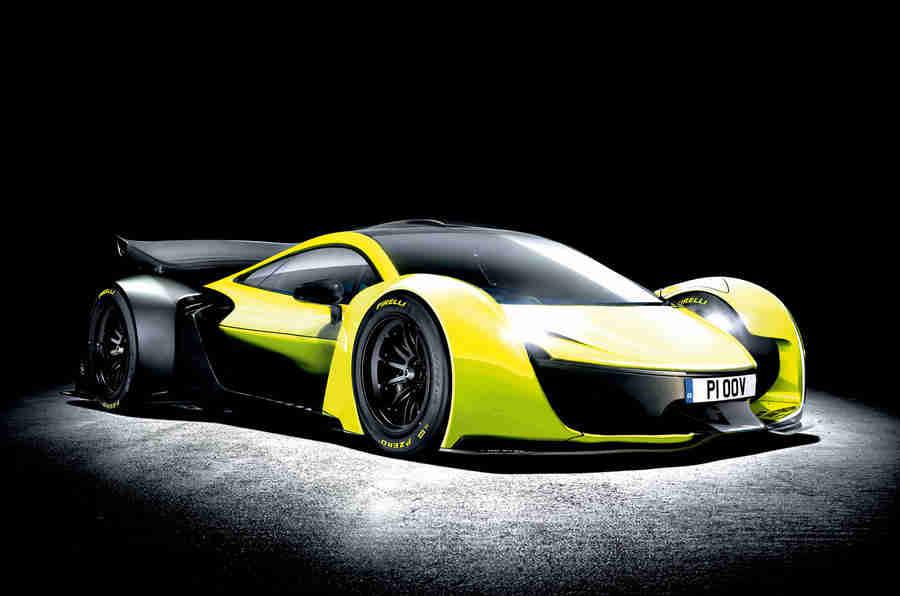 未来迈凯轮P1可能是全电动的 - 更新