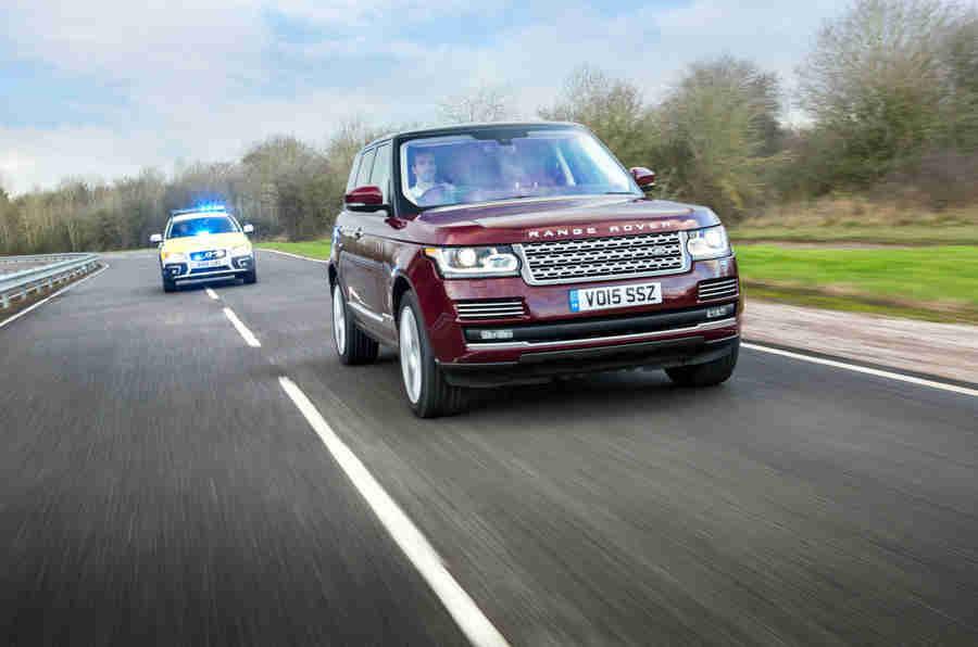 捷豹路虎在英国道路上测试自治车辆
